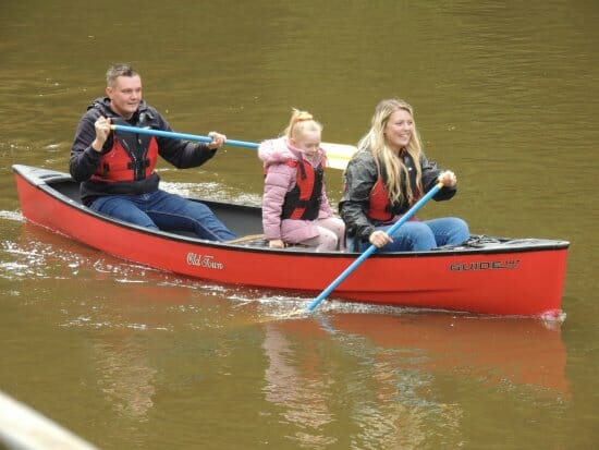Gift certificates for canoe hire