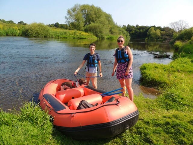 Mini raft hire for couples
